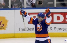 Anders Lee has made his way through the Islanders' system in a relatively short span of time. (Brad Penner-USA TODAY Sports)