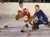 Gordie Howe vs Johnny Bower