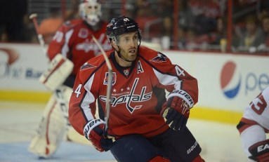 Brooks Orpik Leaves With Lower Body Injury