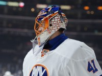 Jaroslav Halak has been one of the biggest pieces to the turnaround of the New York Islanders. (Jayne Kamin-Oncea-USA TODAY Sports)