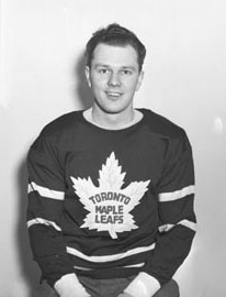 Bud Poile in his Toronto playing days