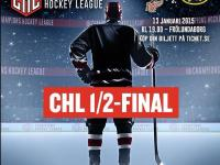 Champions Hockey League 2014-15 semifinals' poster