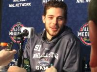 Tyler Seguin turns 23 at the end of January, but is competing in his second NHL All-Star Game (Credit: Alex Busch/Staff)