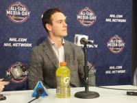 Who will Jonathan Toews select in the NHL All-Star Game's first fantasy draft? (Credit: Andy Dudones/Staff)