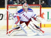 Cam Talbot steps up between the pipes