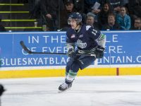 Mathew Barzal of the Seattle Thunderbirds entered the season as the WHL's top-ranked prospect for the 2015 NHL Entry Draft. His stock has fallen a bit because of injuries, but a strong playoff showing could restore him as a potential top-10 pick. (Marissa Baecker/Shoot the Breeze)