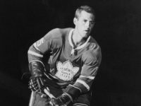 Billy Harris, sent to Rochester by the Leafs