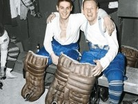 Terry Sawchuk and Johnny Bower may not be together again next season.