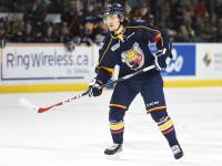 Rasmus Andersson of the OHL's Barrie Colts [photo: OHL Images]