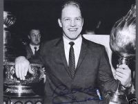 Bobby Hull with Hart Trophy