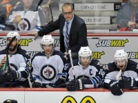 Jets' coach Paul Maurice is a Jack Adams Award snub in 2014-15. (Gary A. Vasquez-USA TODAY Sports)