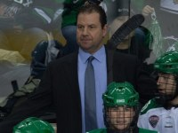 UND Head Coach Brad Berry (Peter Bottini, UND Athletics)