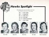 Dallas Black Hawks who were named the CHL's Player of the Week.