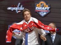 Ilya Samsonov on Draft day 2015 (Steve Mitchell-USA TODAY Sports)