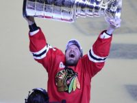 Kimmo Timonen finally has the chance to hoist Lord Stanley's Cup. (David Banks-USA TODAY Sports)