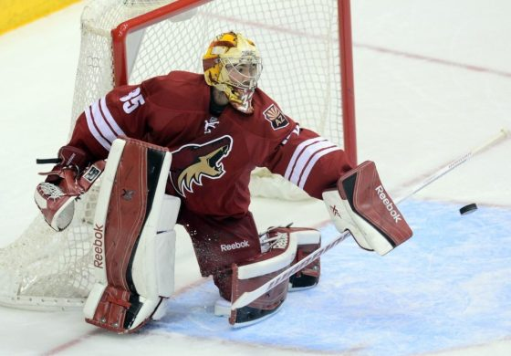 Coyotes' Louis Domingue Will Play in Europe