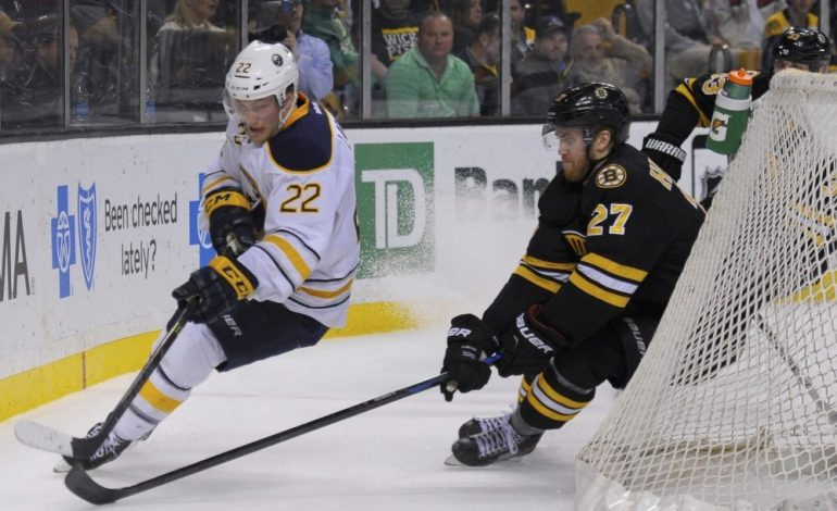 Johan Larsson Re-Signs with the Buffalo Sabres