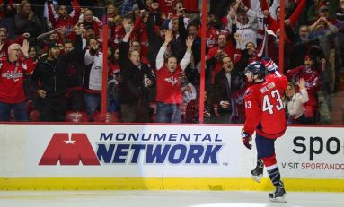 Capitals' Wilson Receives Maximum Fine for Knee-on-Knee Hit
