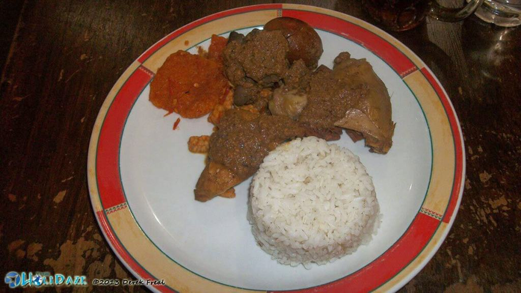 HoliDaze Travel Guide to Indonesia's Best Foods: Gudeg!