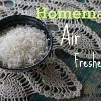 Rice & Essential Oil Homemade Air Freshener