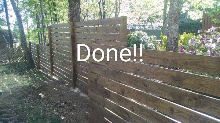 fencestained