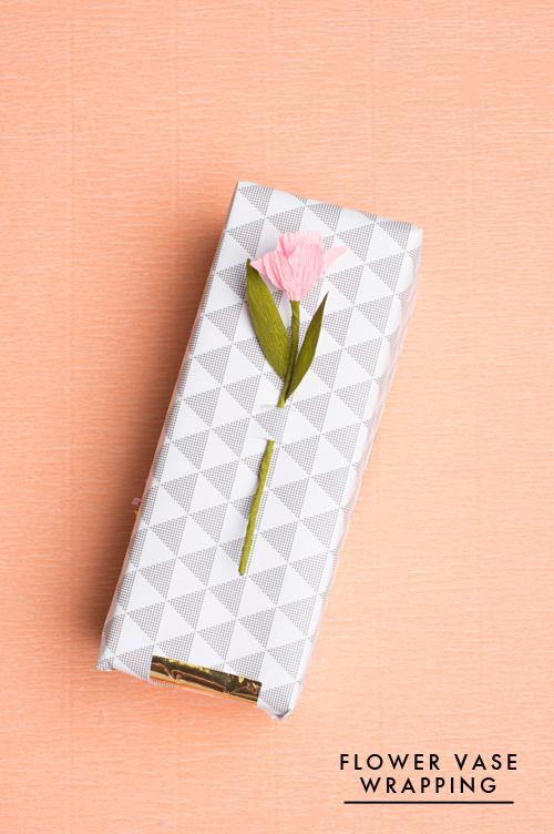 Make a vase on a gift