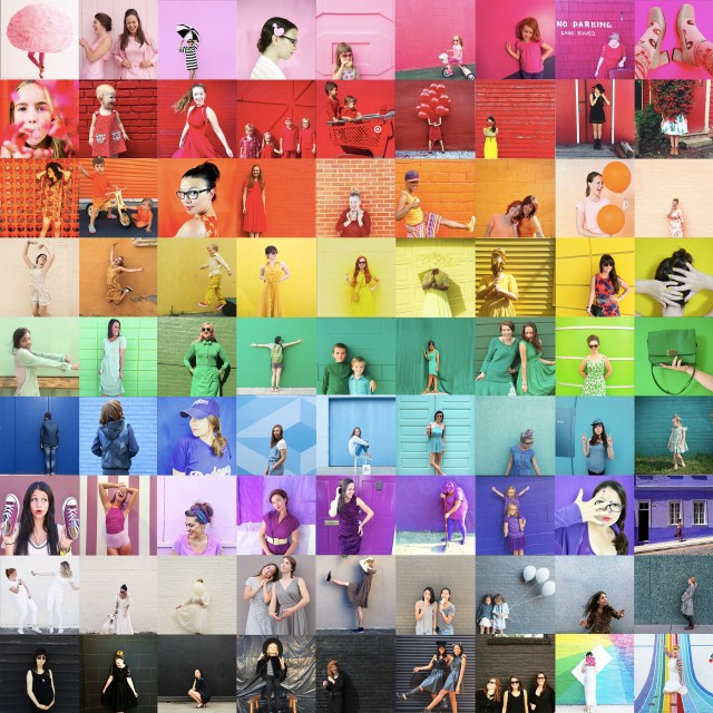 COLOR COLLAGE for Dress the Rainbow