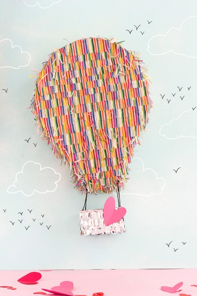 tissue paper hot air balloon instructions