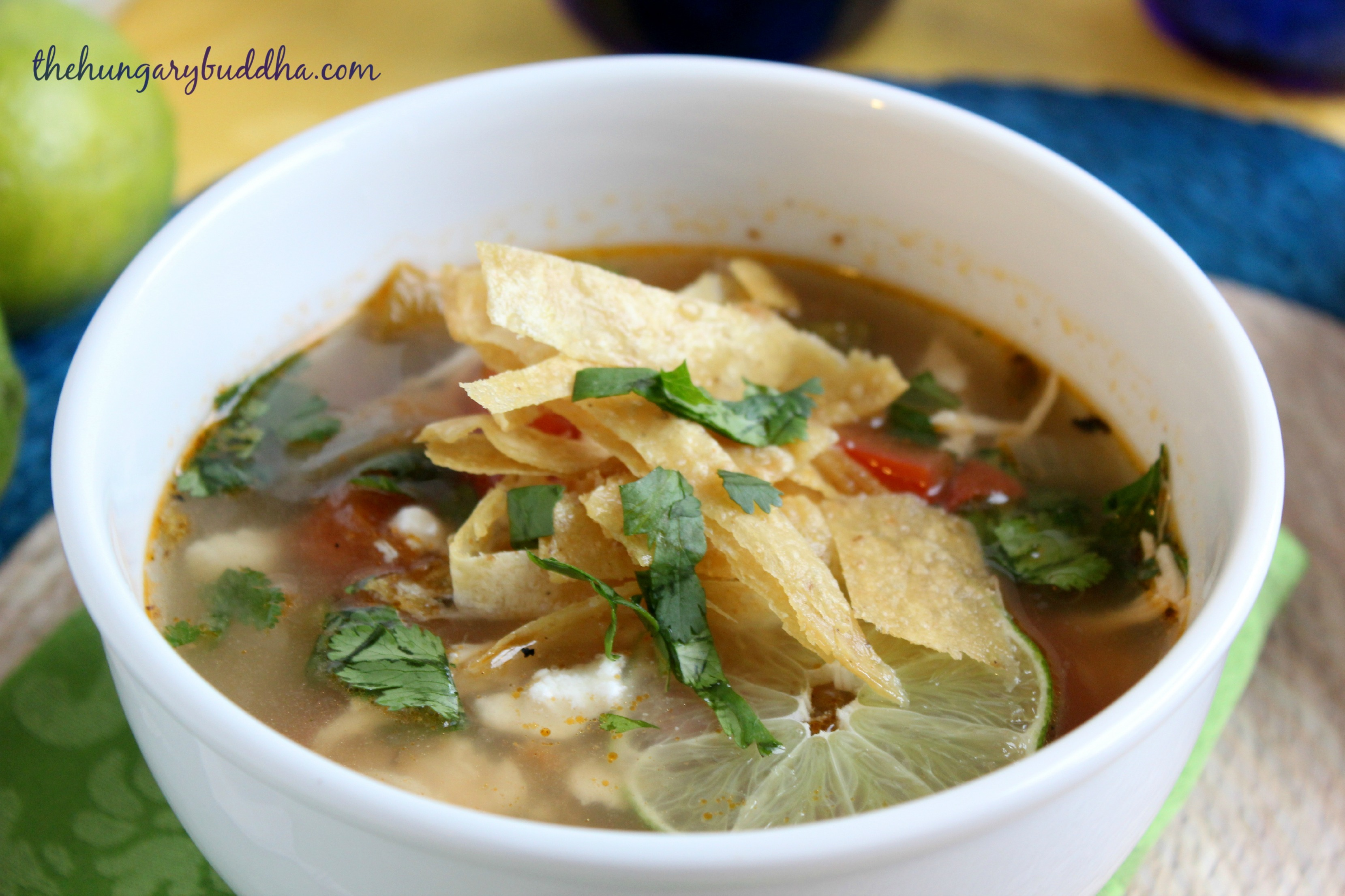 Chicken Soup for the Soul:  Sopa de Lima, or Yucatán Chicken and Lime Soup