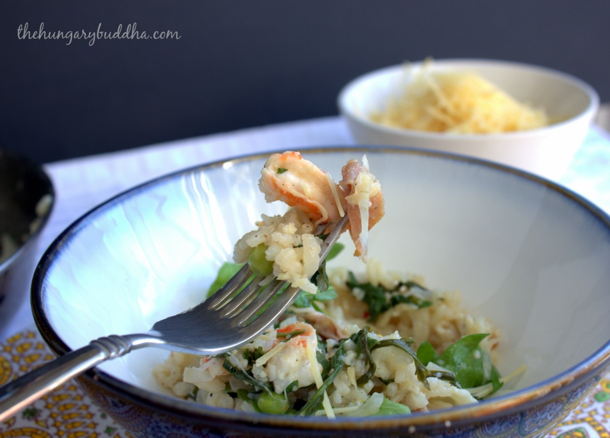 Eat the World Showcase: Italy, with Spring Shrimp Risotto