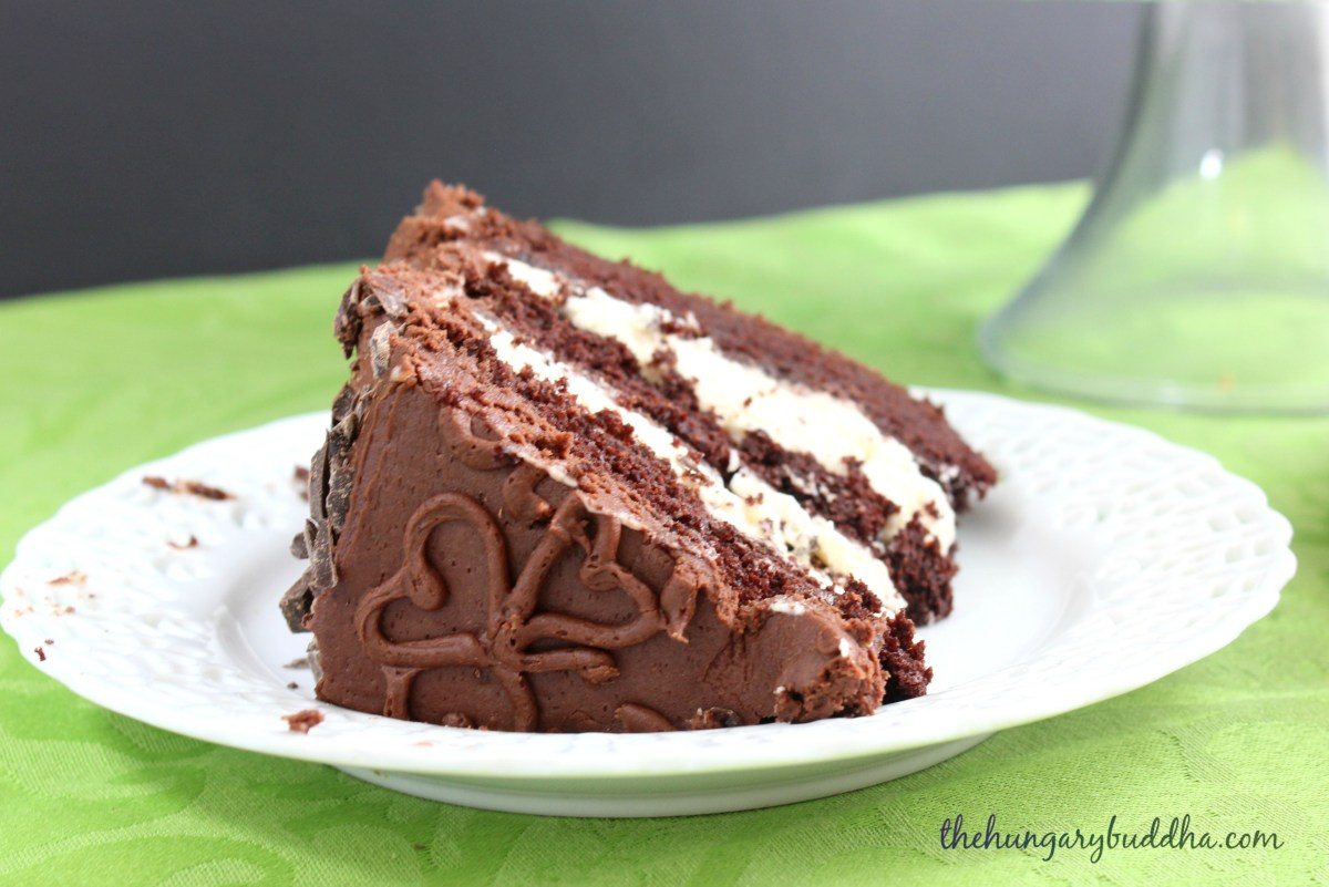 Happy St. Patrick's Day! : Irish Cream Chocolate Layer Cake