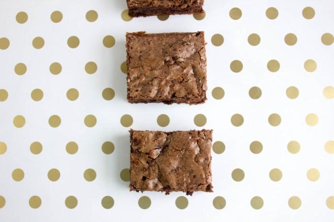 truffle mint brownies