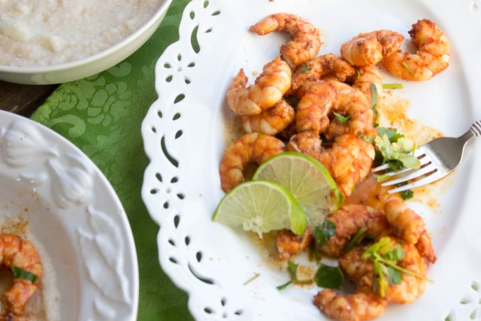 BBQ Shrimp and Grits