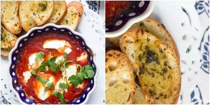 spanish tomato & goat cheese dip