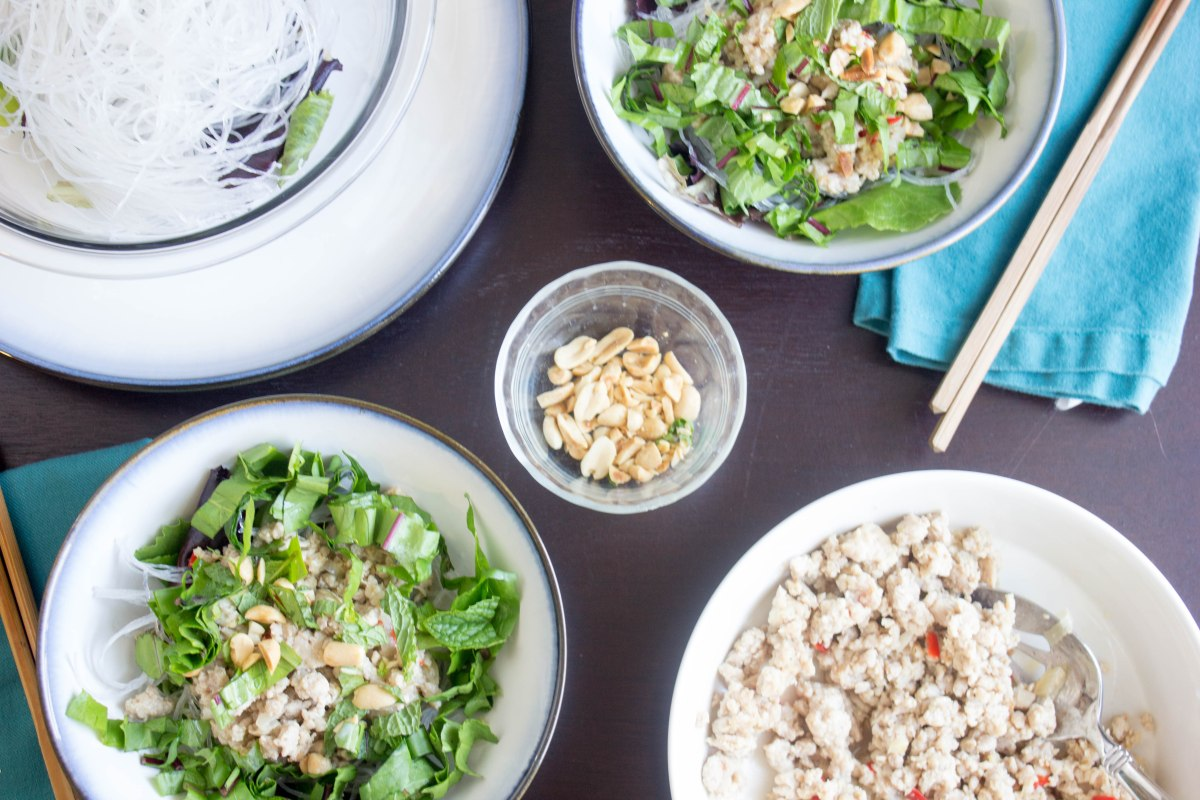 Ginger Chinese Chicken Salad
