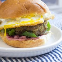 Bobotie Burger