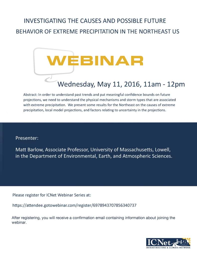 ICNet Webinar Flyer, May 11, 2016