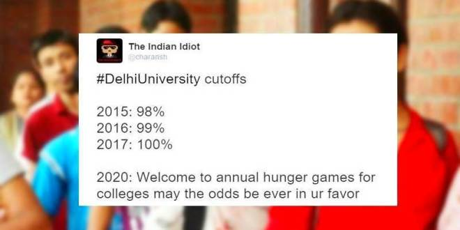 Delhi University Cut-off list