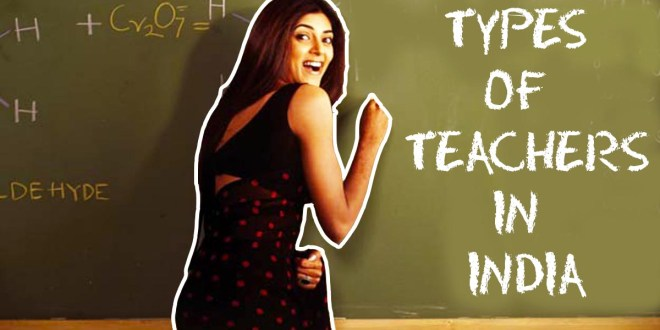 Types of Indian Teachers