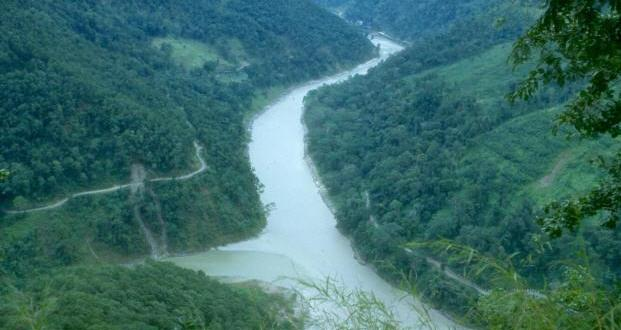 Teesta river, the lifeline of Sikkim and East Bengal