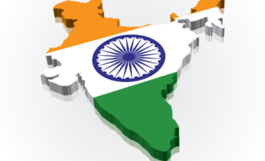 14211380703D-India-Flag-Map-2