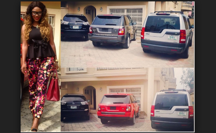 Nigerian female celebs that drive the most expensive cars - They're the big ballers (With Pics)