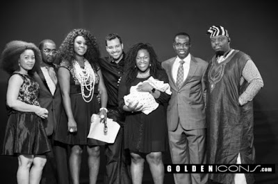 Official photos from baby dedication ceremony of Uche Jombo & Kenney Rodriguez's son in Houston, USA