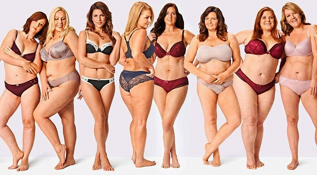 Women strip down to prove they are beautiful in all shapes (Photos + Video)