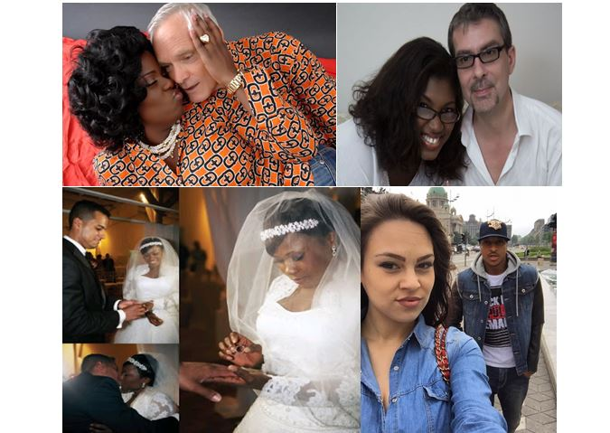 10 Nigerian celebrities that are married to foreigners (with pictures)