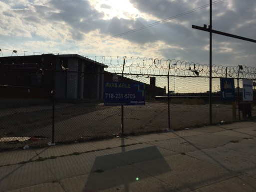 The site of a new auto mall in Hunts Point (Tyler Pratt/The Ink).
