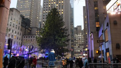 Rockefeller Christmas Tree. (The Ink/Nadeem Shad).