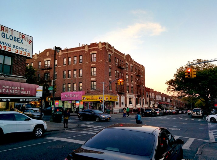 Ronald Giddens grew up at 1651 Caroll Street, Crown Heights, Brooklyn, taking care of the family after he lost his father at 7. The neighborhood used to be bad, according to Rodney Giddens. (Harry Chang/The Ink)