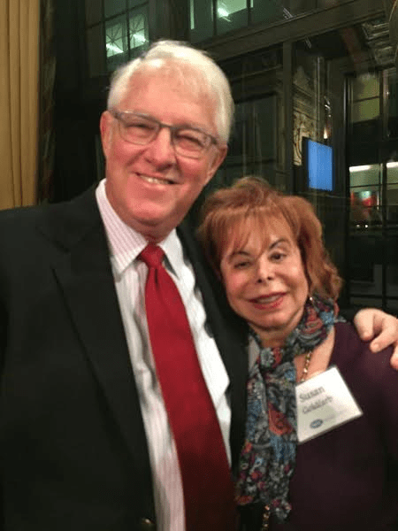 Susan Goldfarb and her husband Jonathan Goldfarb.