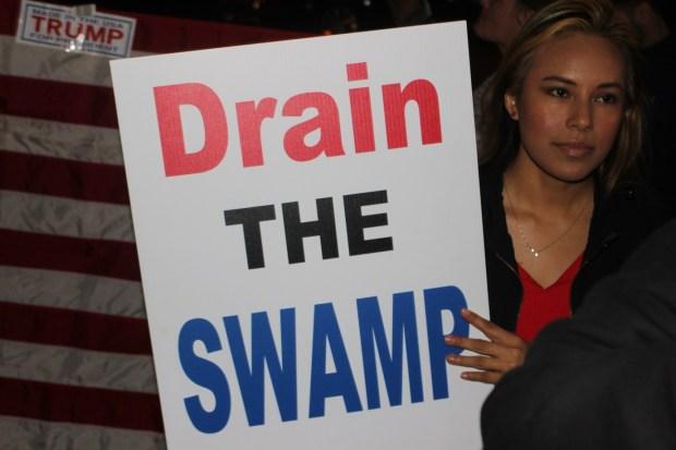 Trump supporter Sarah Bruno. (The Ink/Nadeem Shad)